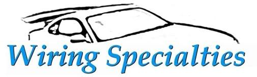 wiring specialties performance wise rh performance wise com au Cable Specialties 240SX S13