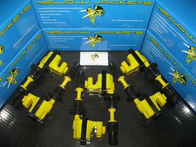 YELLOW JACKETS COIL PACKS (COMPLETE SET) - NISSAN - YJ-VG30-S1