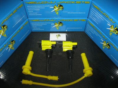 YELLOW JACKETS COIL PACKS (COMPLETE SET) - MITSUBISHI - YJ-EVO456789