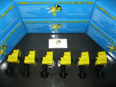 YELLOW JACKETS COIL PACKS (COMPLETE SET) - NISSAN - YJ-RB2526-S2