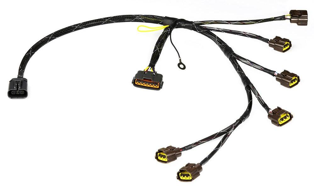 wiring specialties coil pack harness  loom