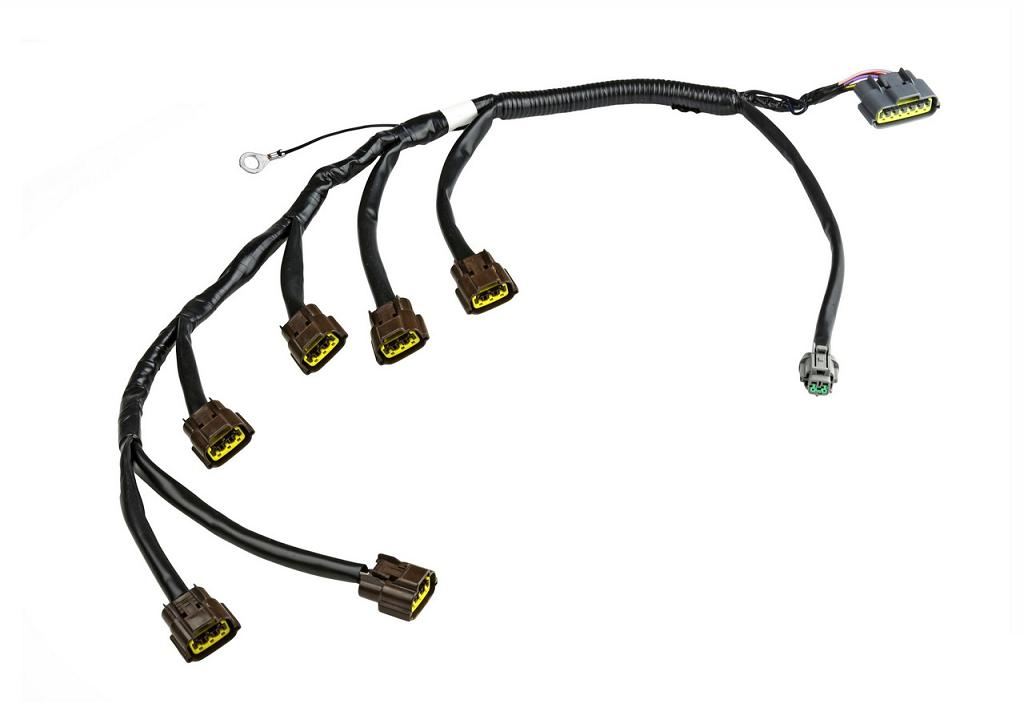 wiring specialties coil pack harness  loom - skyline r33 gtst rb25de t