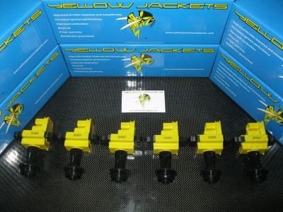 YELLOW JACKETS COIL PACKS (COMPLETE SET) - NISSAN - YJ-RB2025-N