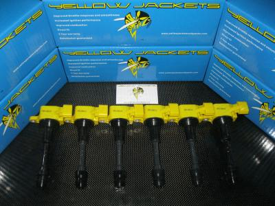 YELLOW JACKETS COIL PACKS (COMPLETE SET) - NISSAN - YJ-VQ35-S1