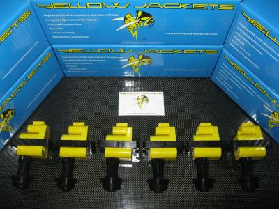 YELLOW JACKETS COIL PACKS (COMPLETE SET) - NISSAN - YJ-RB20313233