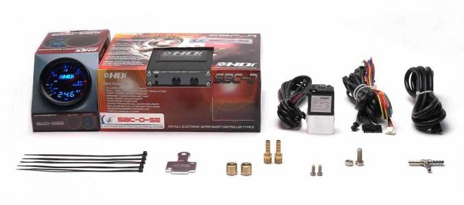 HYBRID DEVELOPMENT INTERNATIONAL (HDI) - ELECTRONIC BOOST CONTROLLER KIT (WITH GAUGE) - SUPER SBC EVO