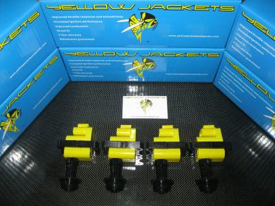 YELLOW JACKETS COIL PACKS (COMPLETE SET) - NISSAN - YJ-CA18