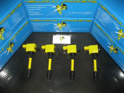 YELLOW JACKETS COIL PACKS (COMPLETE SET) - NISSAN - YJ-SR20-S2